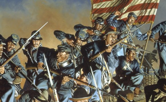 American civil war, black