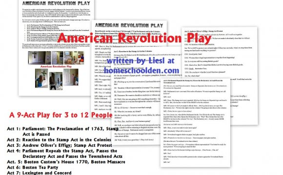 American Revolution Play (For