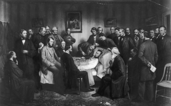 Painting of the death of