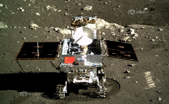 Photo of Chang e-3 moon lander