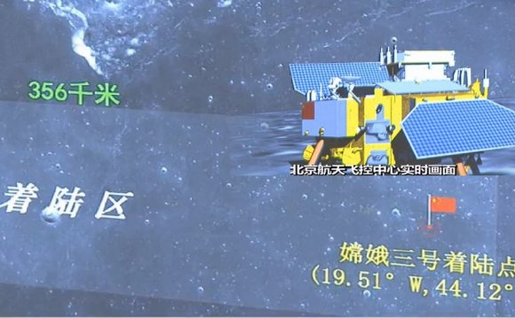 China Lands On The Moon: