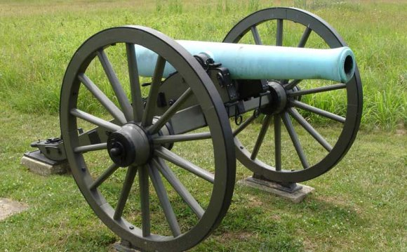 An American M1857 12-Pounder