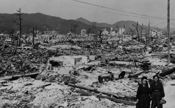 The fall of Japan after World