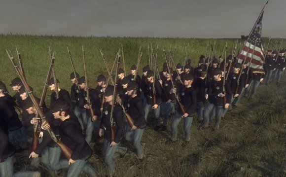 Union troops: