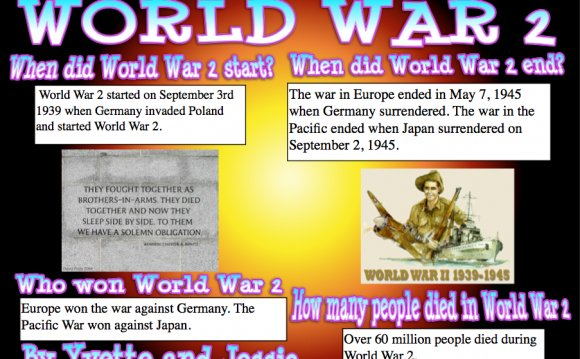 Facts on World War 2. eg