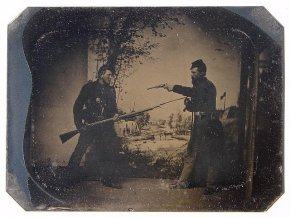 Civil War Soldier with Bayonet