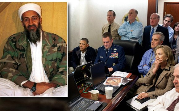 Pics of Osama bin Laden after death