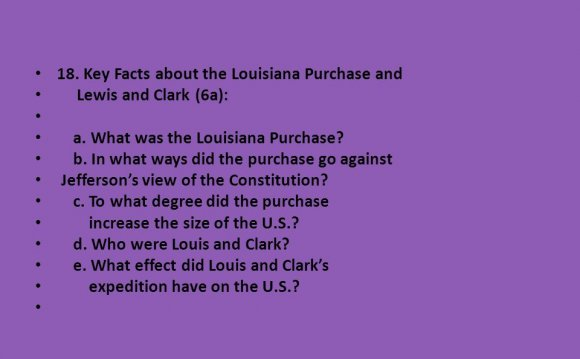 Important Facts About the Louisiana Purchase