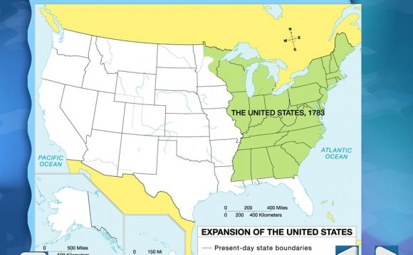Exploring the Louisiana Purchase map