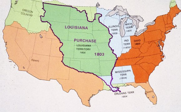 1803 the Louisiana Purchase