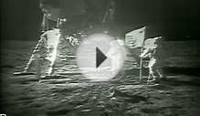 Moon Landing - July 20, 1969 (ORIGINAL FOOTAGE VIDEO)