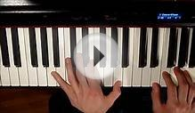 Piano Lesson 4 : Tutoriel Pearl Harbor - Tennessee