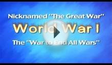 World War One - Educational Music - Song